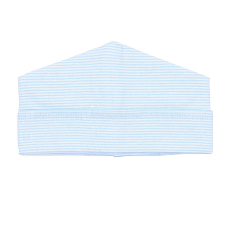 Blue Mini Stripe Hat