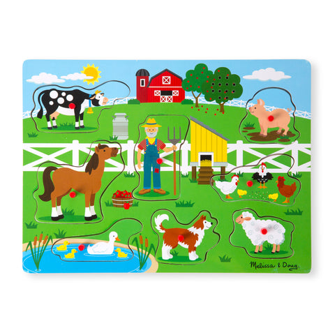 Sing-Along Old McDonald's Farm Sound Puzzle