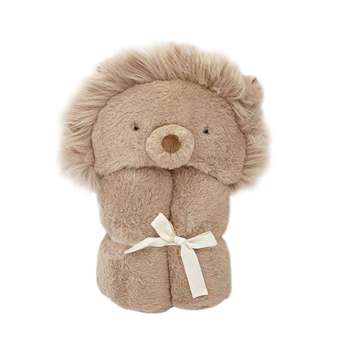 Luca the Lion Hooded Blanket
