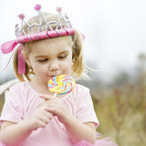 Bright Pink Ribbons Tiara