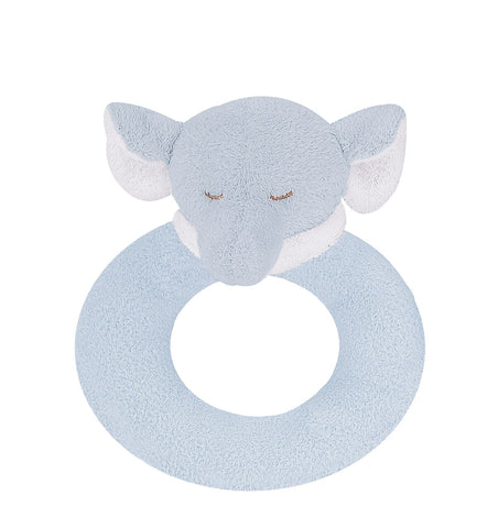 Elephant Rattle: Blue