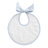 Bib: Pale Blue Gingham