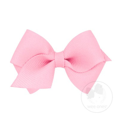Bow - Wee Pearl Pink