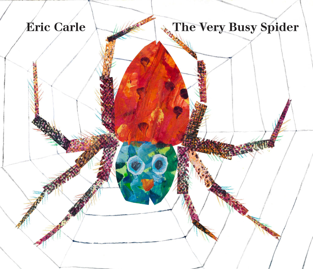 The Very Busy Spider : Lap-Size Board Book