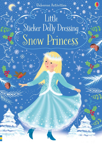 Little Sticker Dolly Dressing Snow Princesses