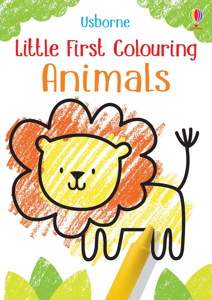 Little First Coloring Animals Book