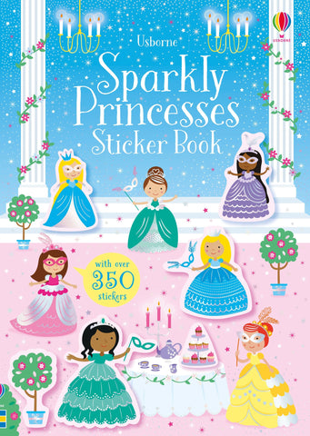 Little Sparkly Princesses Sticker Book