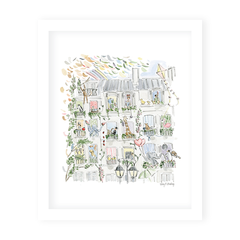 Zoo In The City Art Print by Riley Sheehey