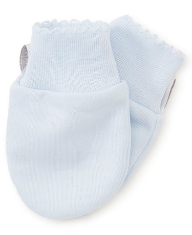 Blue Basics Mittens