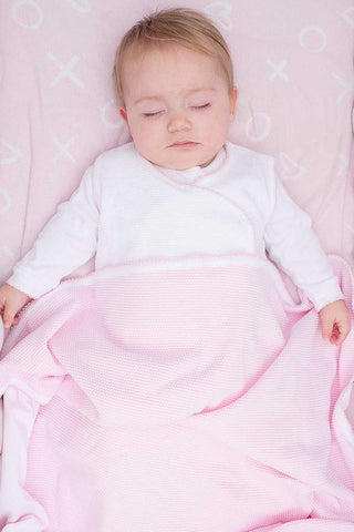 Bubble Baby Blanket: Pink