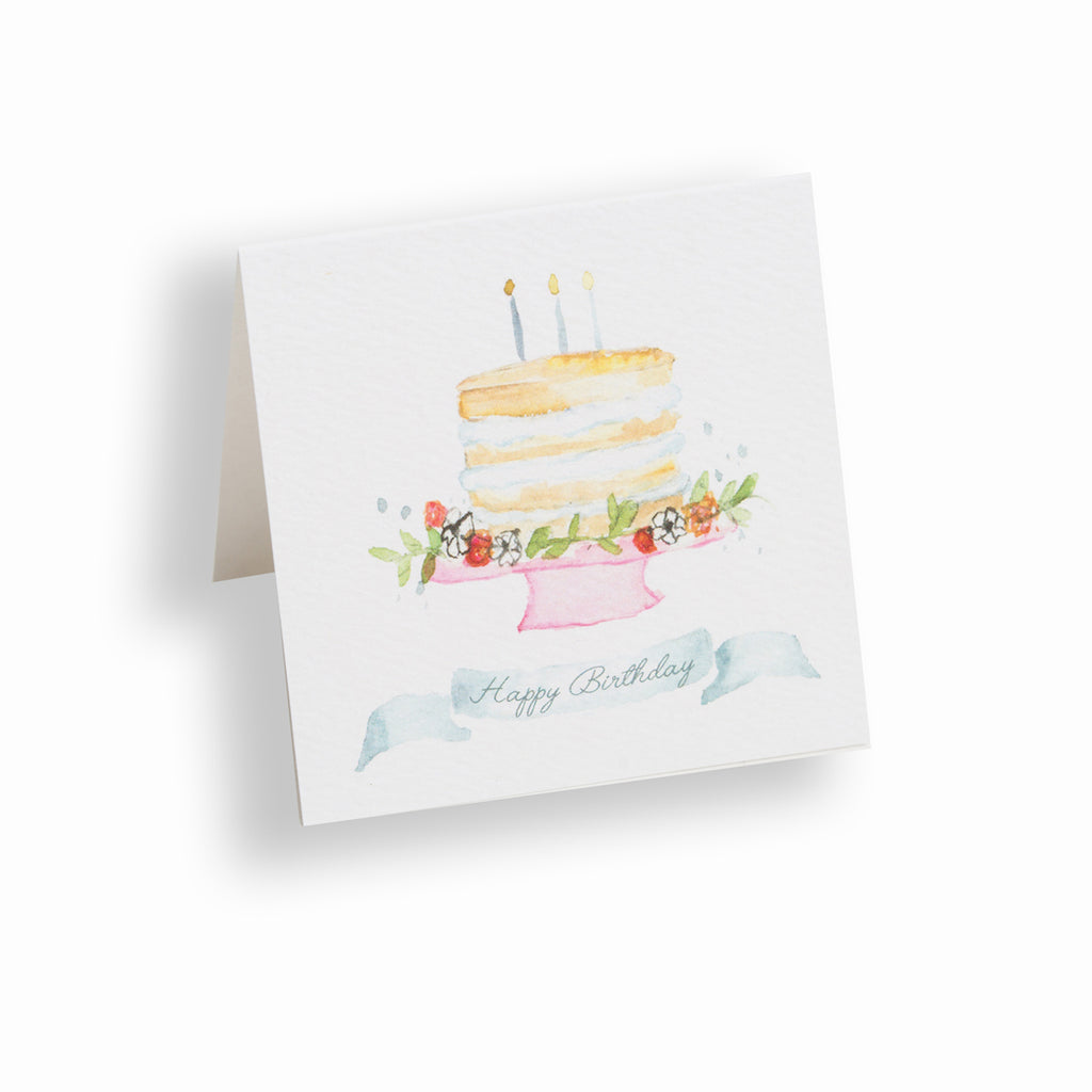 Happy Birthday Gift Enclosure Card