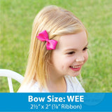 Bow - Wee Light Pink
