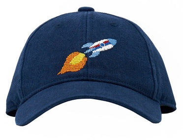 KIDS Rocket on Navy Hat