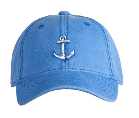 KIDS' Anchor on Dark Periwinkle Hat