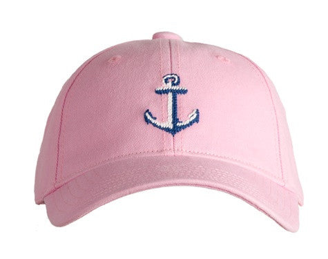 Anchor on Light Pink Hat