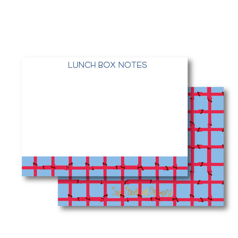 Bamboo Lunch Box Notes