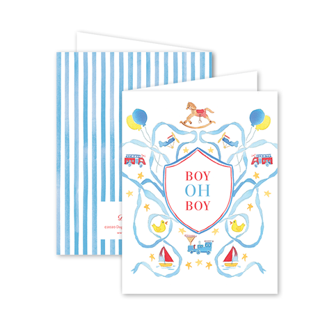Planes, Trains, Trucks, & Toys Card by Gina Langford