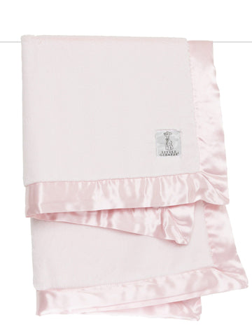 Luxe Baby Blanket: Pink