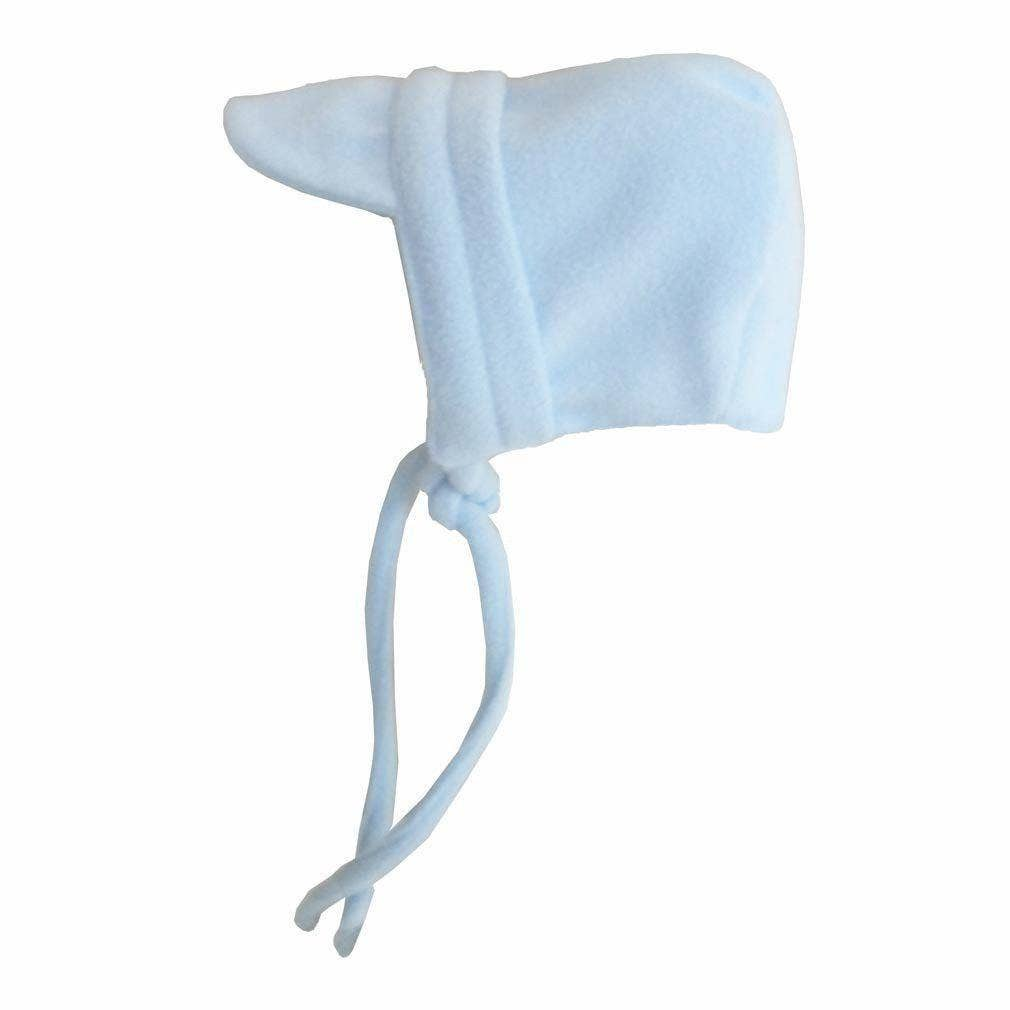 Blue Fleece Bonnet