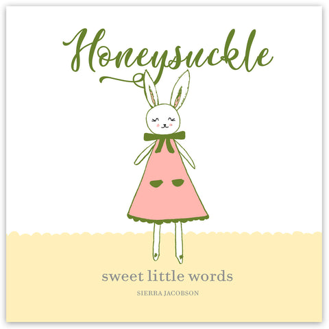 Honeysuckle: Sweet Little Words