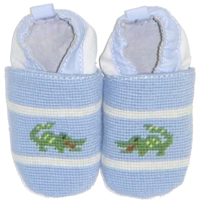 Booties - Gator - Blue