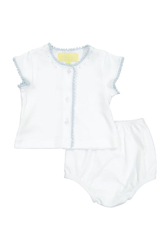 Blue Diaper Set