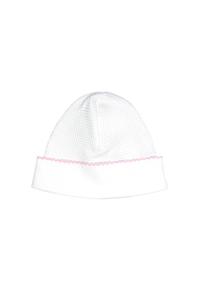Bubble Baby Hat: White/Pink
