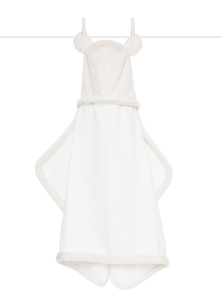Luxe Baby Towel: Cream