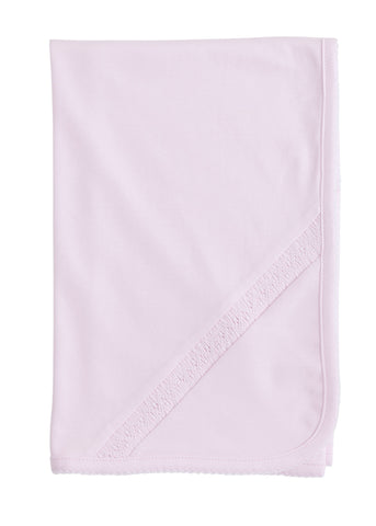 Welcome Home Layette Blanket: PInk