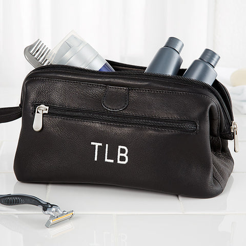 Toiletry Bag | Leather Toiletry Bag