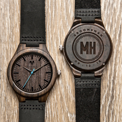 Wooden watch perfect gift for groomsmen