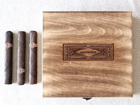 wooden cigar box with a rectangle | square shape cigar boxes | personalized gifts for men