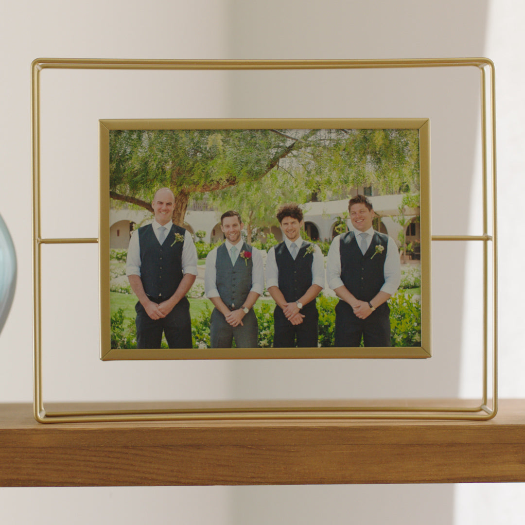 Photo frame | groomsmen gift | A photo frame | wall frame