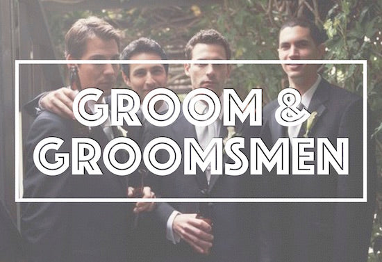 Personalized gifts for groom and groomsmen