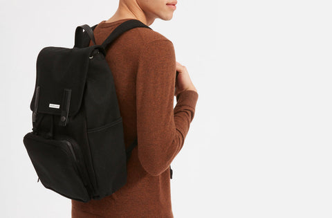 Modern Backpack | black bag