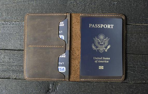 Passport Holder | leather passport holder