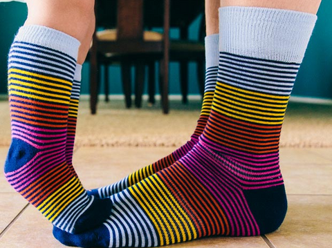 matching socks for dad and child | socks pair