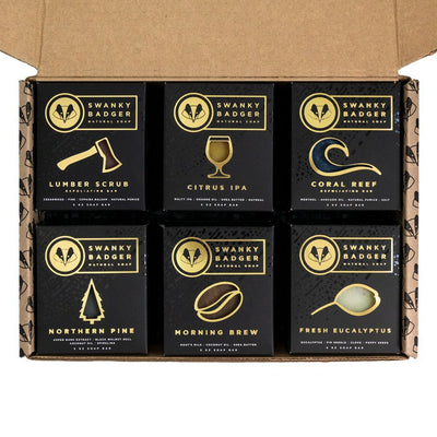 Natural Soap Starter Set (12 bars)