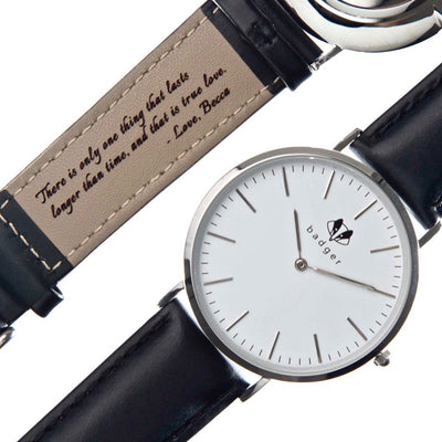 Classic Stainless Watch: Love Note