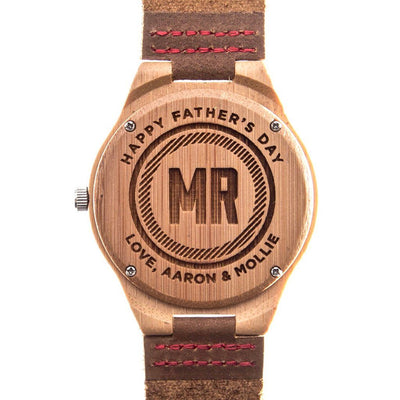 Bamboo Tailored Watch - Father's Day