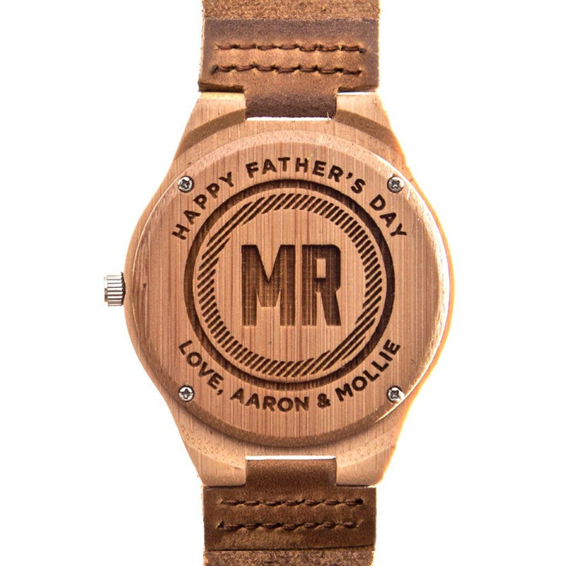 birthday gifts, bamboo watches, wooden watches, customized bamboo watch, customized birthday gifts, personalized gift for him, personalized gift