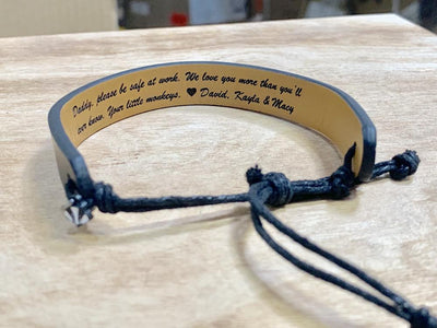 personalized leather bracelet, groomsmen gift, leather bracelet, personalized gift for him, personalized gift, Customized gift