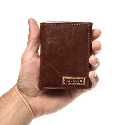 Personalized Trifold Wallet: Classic