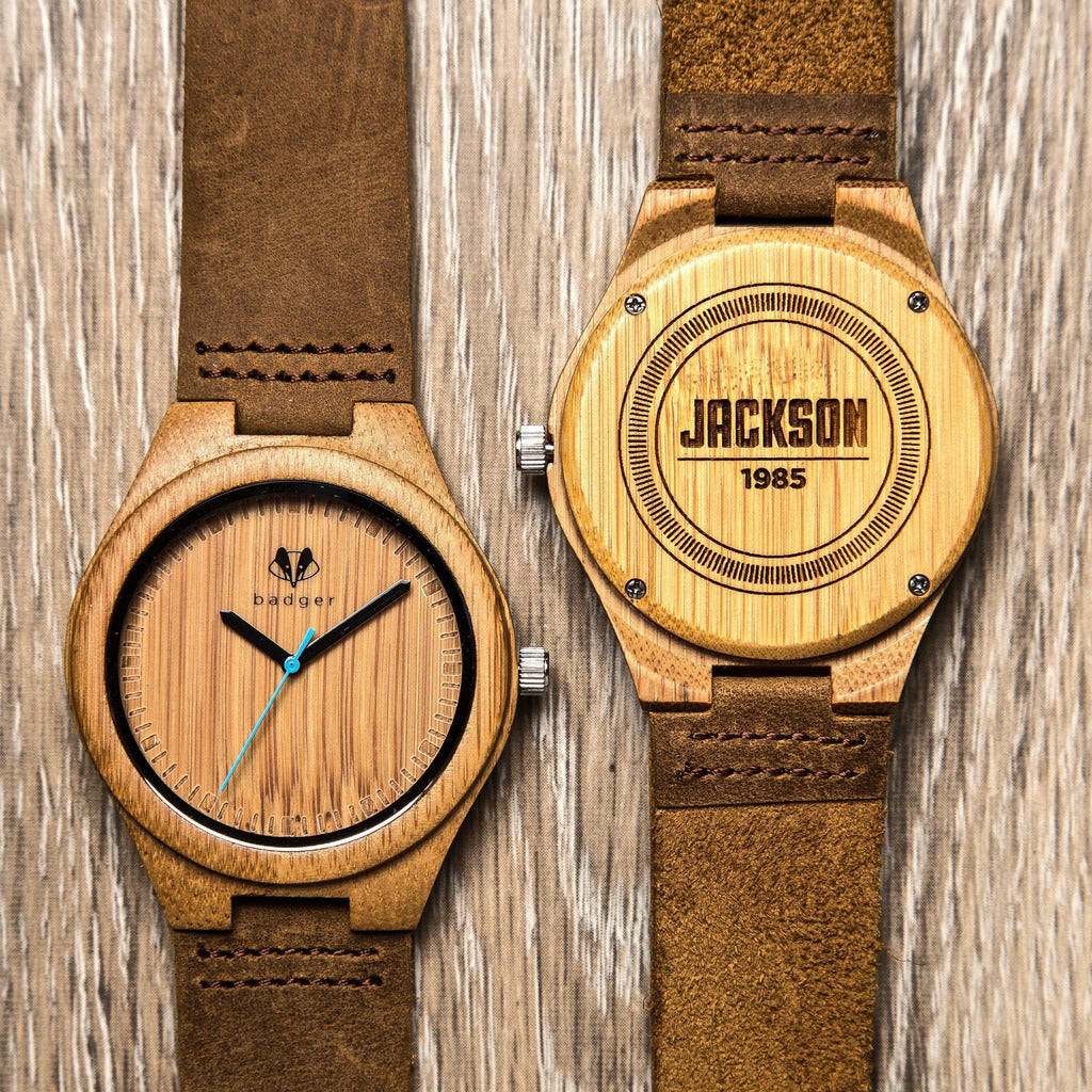 90cdcfe867e6 Birthday Classic Bamboo Wooden Watch