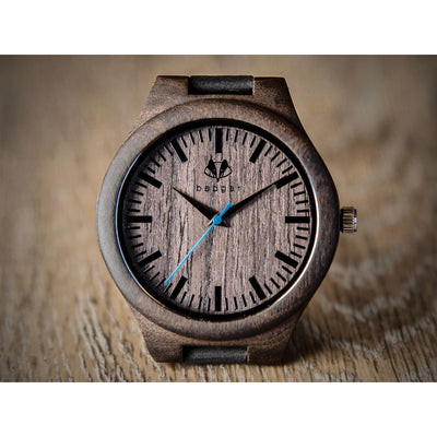 Sandalwood classic watch | Men's wooden watches | unique groomsmen gifts | customized gifts | customized watches | message engraved watches
