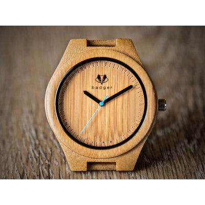 bamboo classic watch | customized watches | customized gifts | anniversary gifts | wooden watches