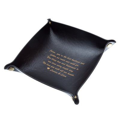 Catchall Tray: Message