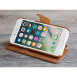Circle Phone Case - Brown