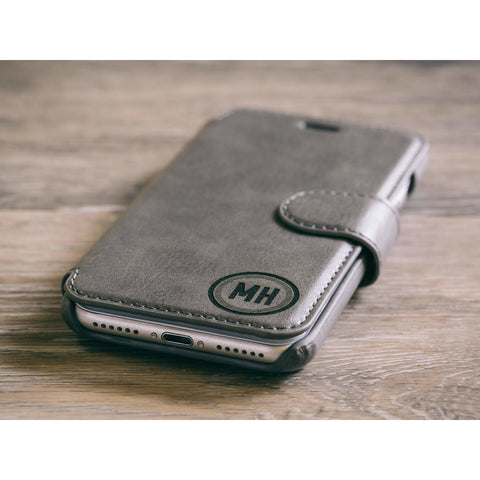 Circle Phone Case - Grey