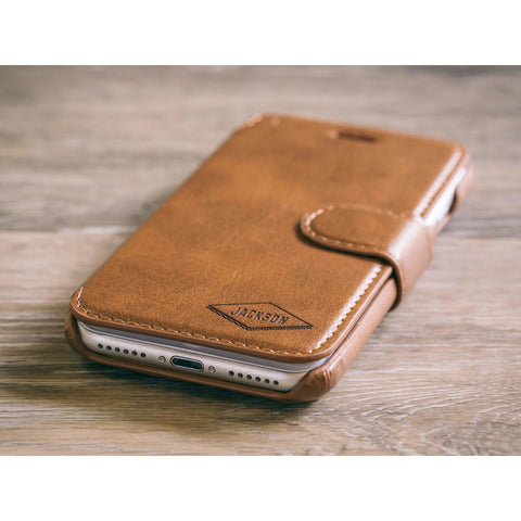 Diamond Phone Case - Brown
